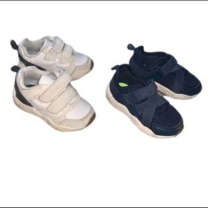 CARTERS two pairs baby sneakers